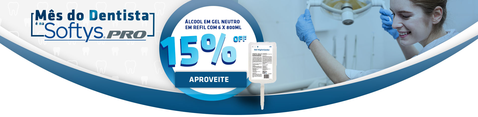 Álcool 15% OFF - SDSOPRO-46